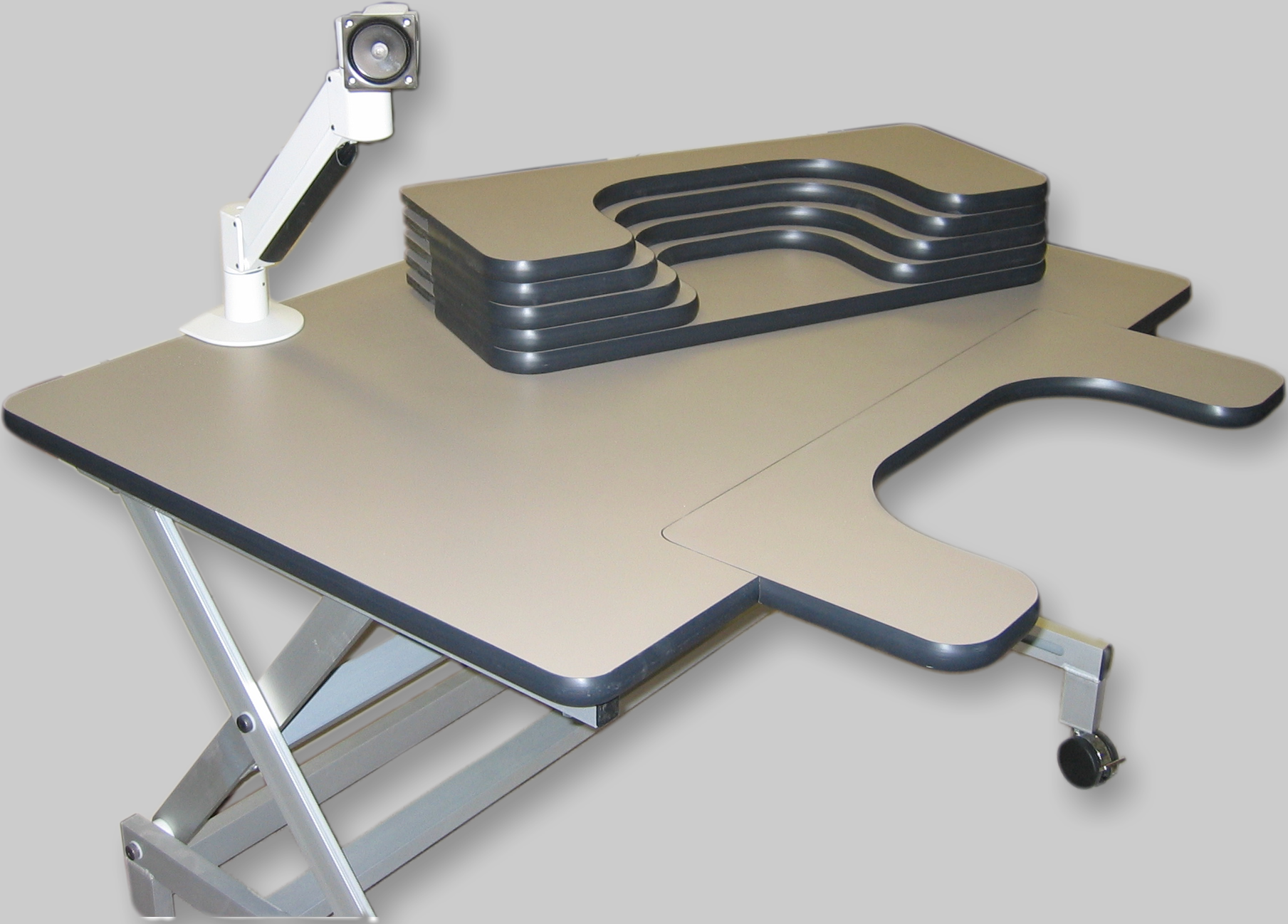 Electrically Adjustable Rehabilitation Table